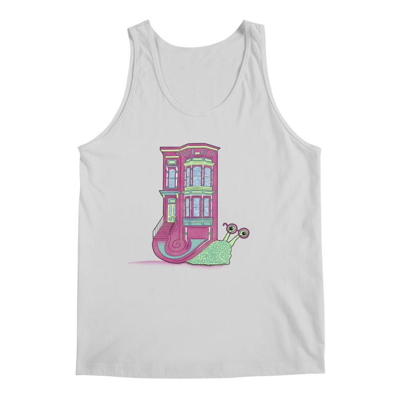 Townhouse Snail Men's Regular Tank by The Art of Rosemary