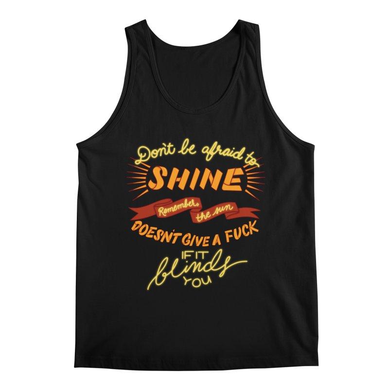 Shine Men's Regular Tank by The Art of Rosemary