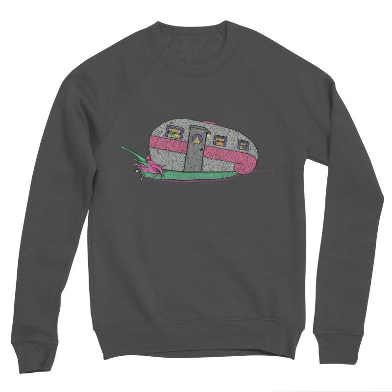 Trailer Snail Men's Sweatshirt by The Art of Rosemary