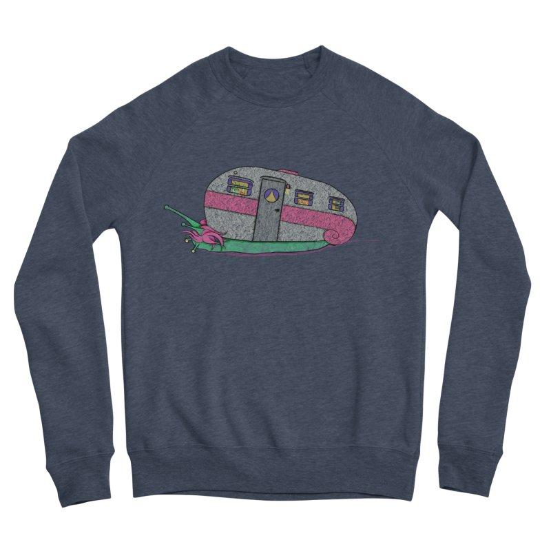 Trailer Snail Men's Sponge Fleece Sweatshirt by The Art of Rosemary