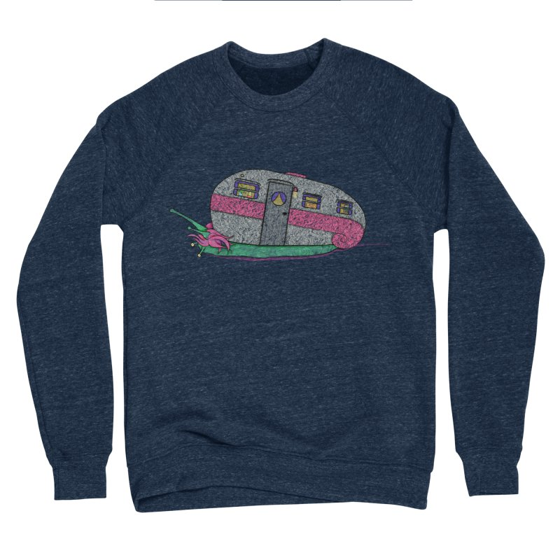 Trailer Snail Women's Sponge Fleece Sweatshirt by The Art of Rosemary