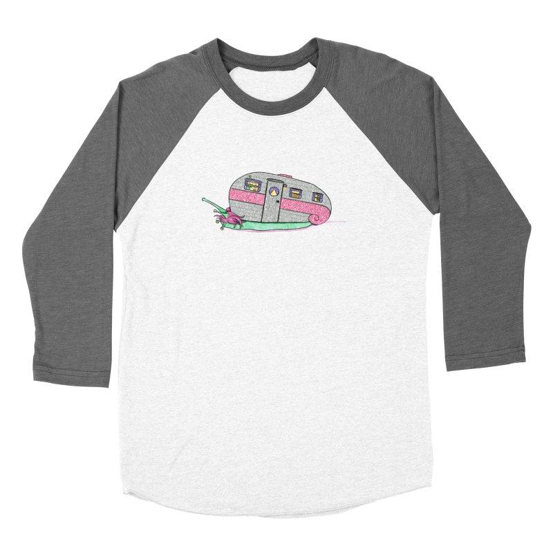 Trailer Snail Women's Longsleeve T-Shirt by The Art of Rosemary