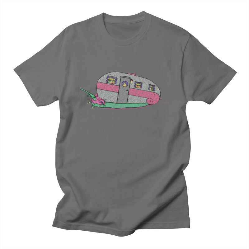 Trailer Snail Men's T-Shirt by The Art of Rosemary
