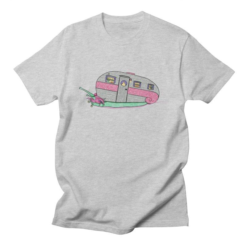 Trailer Snail Women's Regular Unisex T-Shirt by The Art of Rosemary