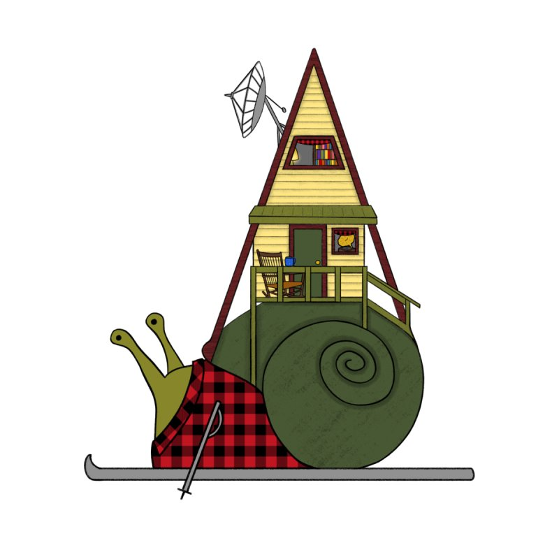 A-Frame Snail by The Art of Rosemary