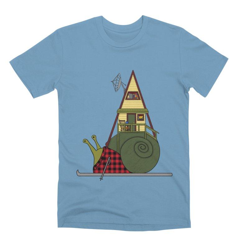 A-Frame Snail Men's Premium T-Shirt by The Art of Rosemary