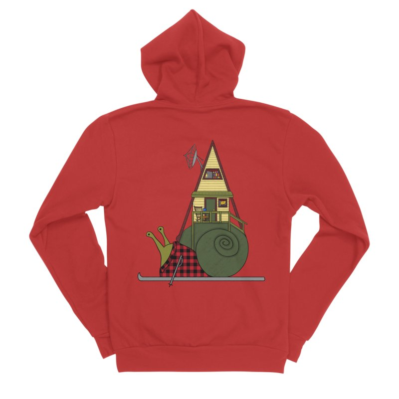 A-Frame Snail Women's Zip-Up Hoody by The Art of Rosemary