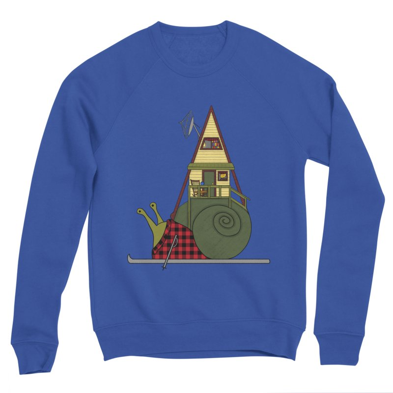 A-Frame Snail Women's Sponge Fleece Sweatshirt by The Art of Rosemary