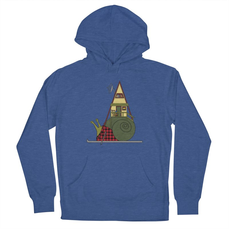 A-Frame Snail Women's Pullover Hoody by The Art of Rosemary