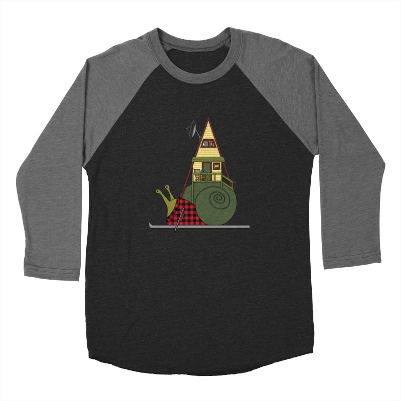 A-Frame Snail Women's Longsleeve T-Shirt by The Art of Rosemary