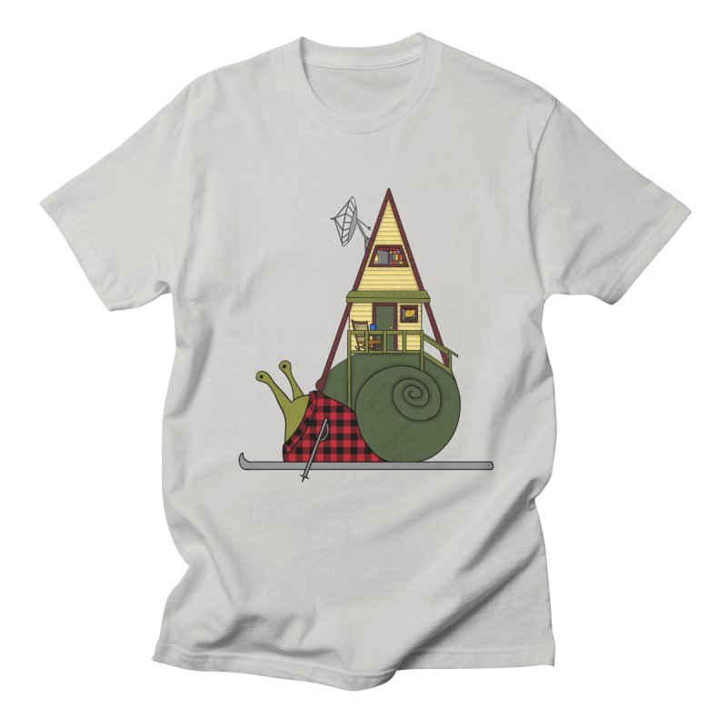 A-Frame Snail Women's Regular Unisex T-Shirt by The Art of Rosemary