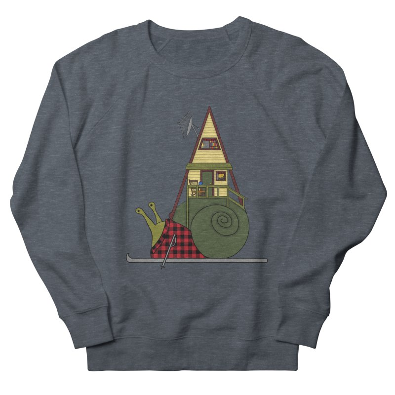 A-Frame Snail Women's French Terry Sweatshirt by The Art of Rosemary