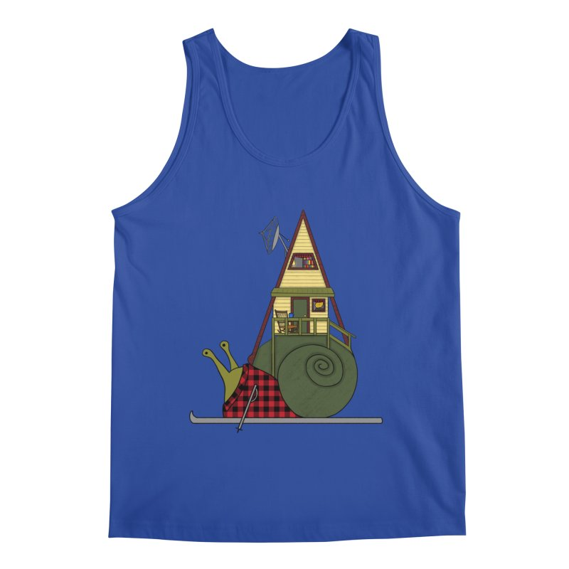 A-Frame Snail Men's Tank by The Art of Rosemary