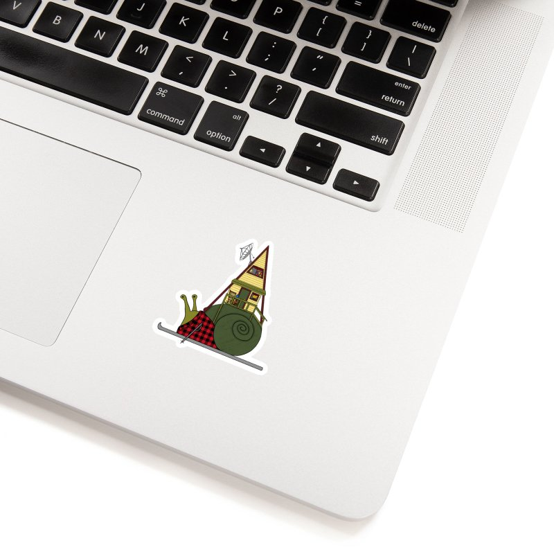 A-Frame Snail Accessories Sticker by The Art of Rosemary