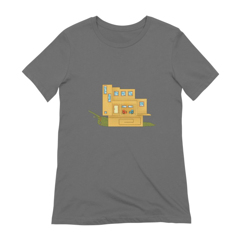 Mod Snail Women's Extra Soft T-Shirt by The Art of Rosemary