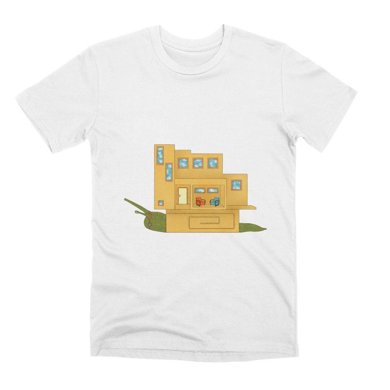 Mod Snail Men's T-Shirt by The Art of Rosemary