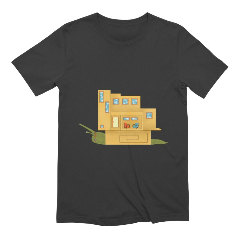 Mod Snail Men's Extra Soft T-Shirt by The Art of Rosemary