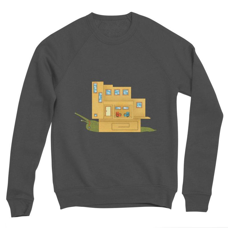 Mod Snail Women's Sponge Fleece Sweatshirt by The Art of Rosemary