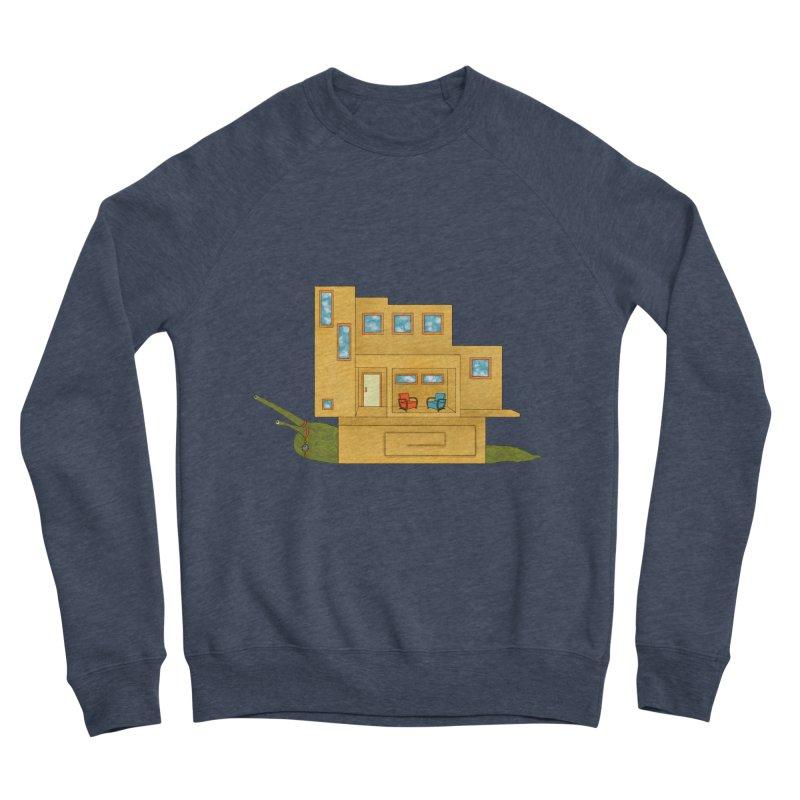 Mod Snail Men's Sponge Fleece Sweatshirt by The Art of Rosemary