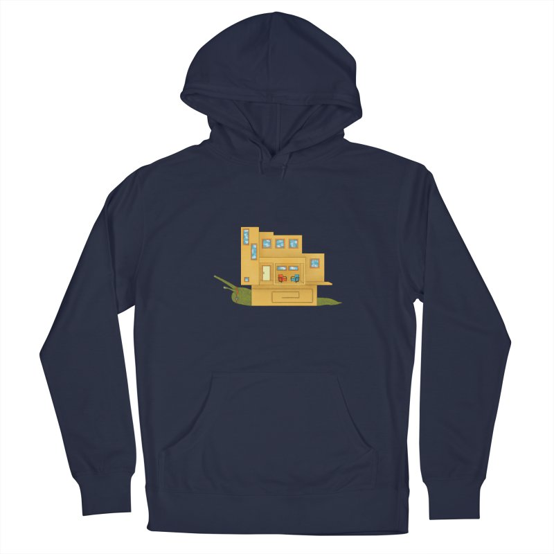 Mod Snail Men's Pullover Hoody by The Art of Rosemary
