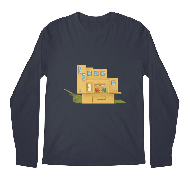 Mod Snail Men's Regular Longsleeve T-Shirt by The Art of Rosemary