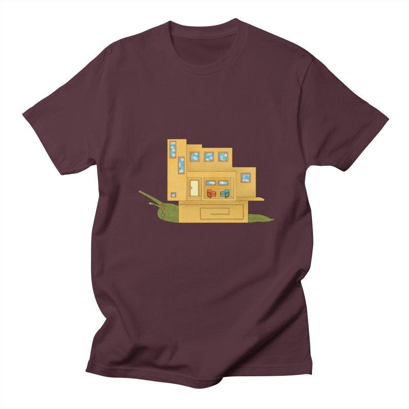 Mod Snail Women's Regular Unisex T-Shirt by The Art of Rosemary