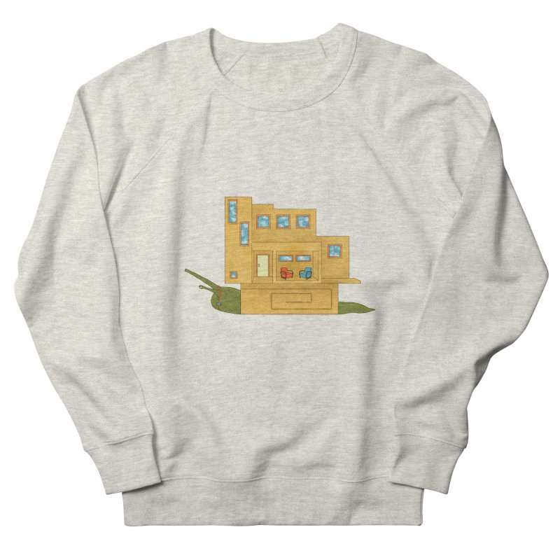 Mod Snail Women's French Terry Sweatshirt by The Art of Rosemary