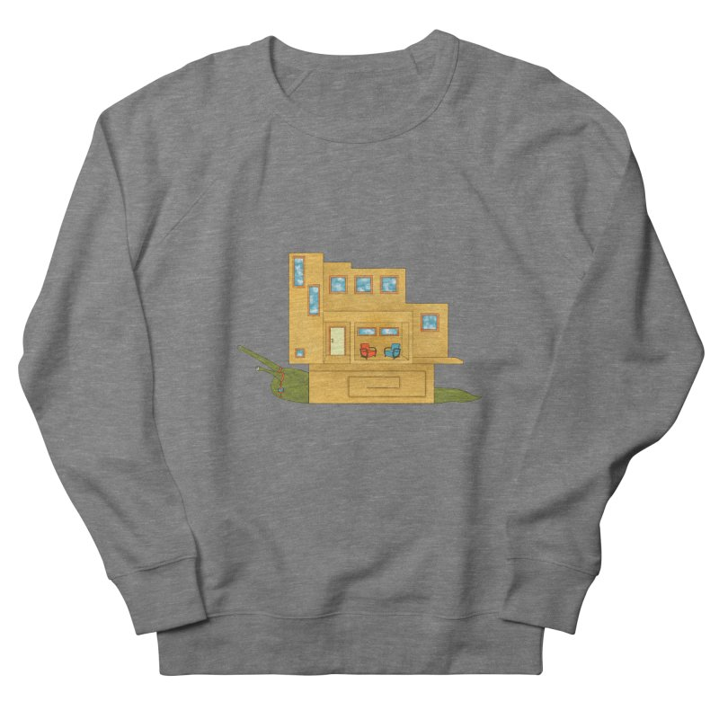 Mod Snail Men's French Terry Sweatshirt by The Art of Rosemary