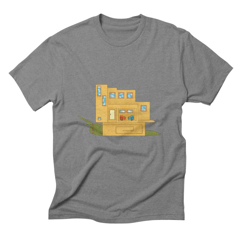 Mod Snail Men's Triblend T-Shirt by The Art of Rosemary
