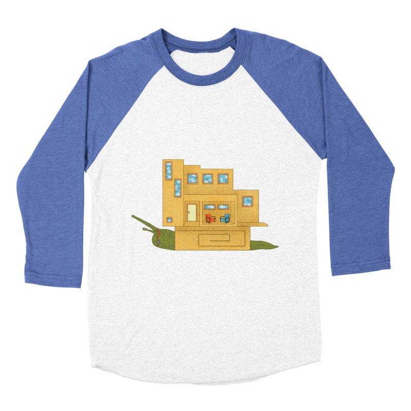 Mod Snail Women's Baseball Triblend Longsleeve T-Shirt by The Art of Rosemary