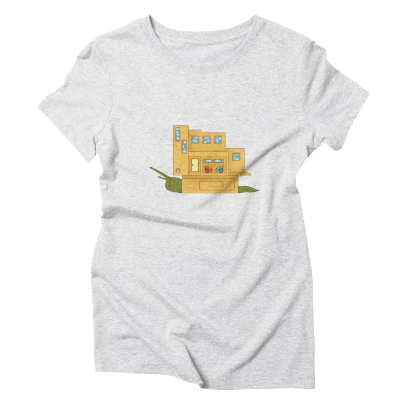 Mod Snail Women's T-Shirt by The Art of Rosemary