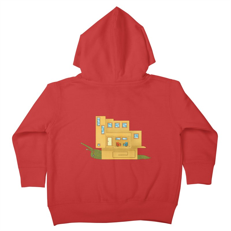 Mod Snail Kids Toddler Zip-Up Hoody by The Art of Rosemary
