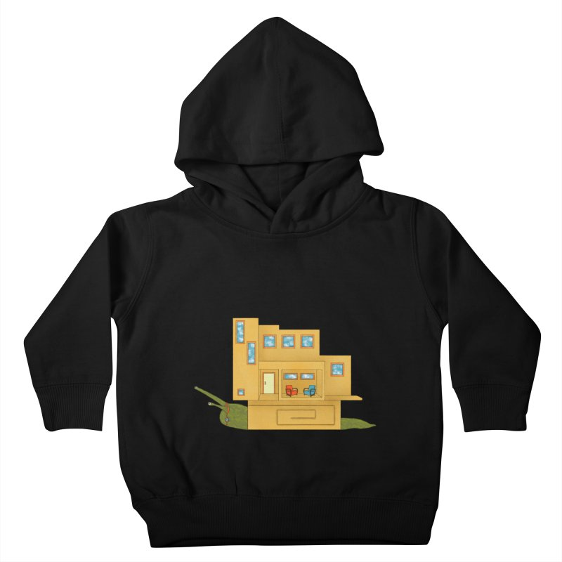 Mod Snail Kids Toddler Pullover Hoody by The Art of Rosemary