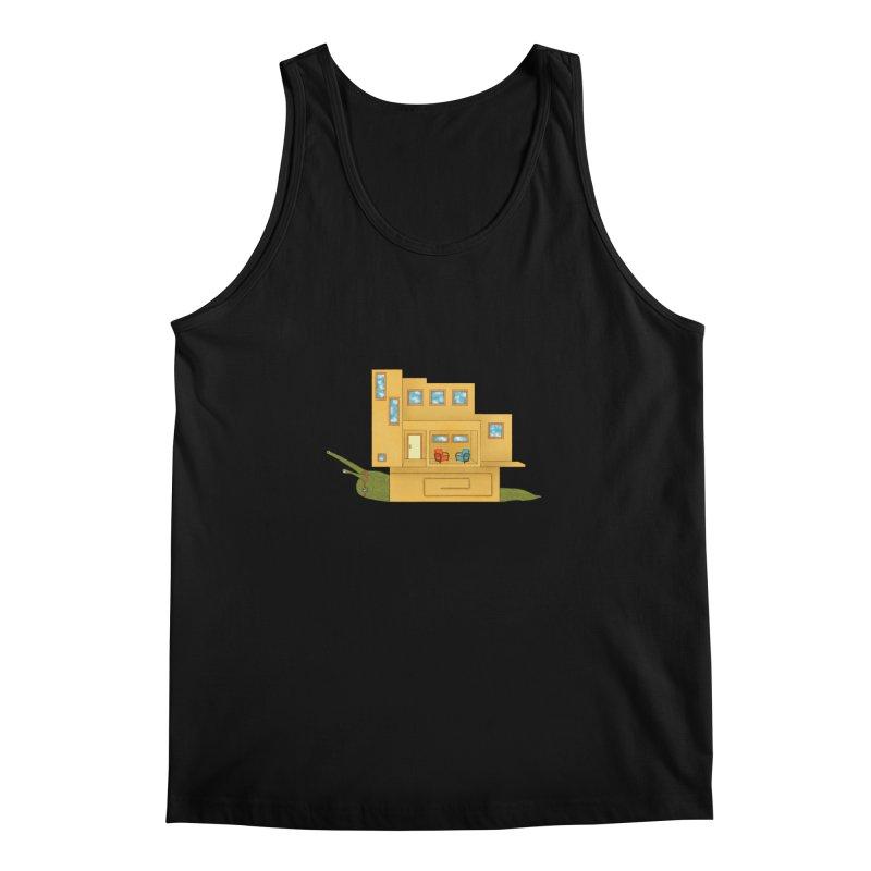 Mod Snail Men's Regular Tank by The Art of Rosemary