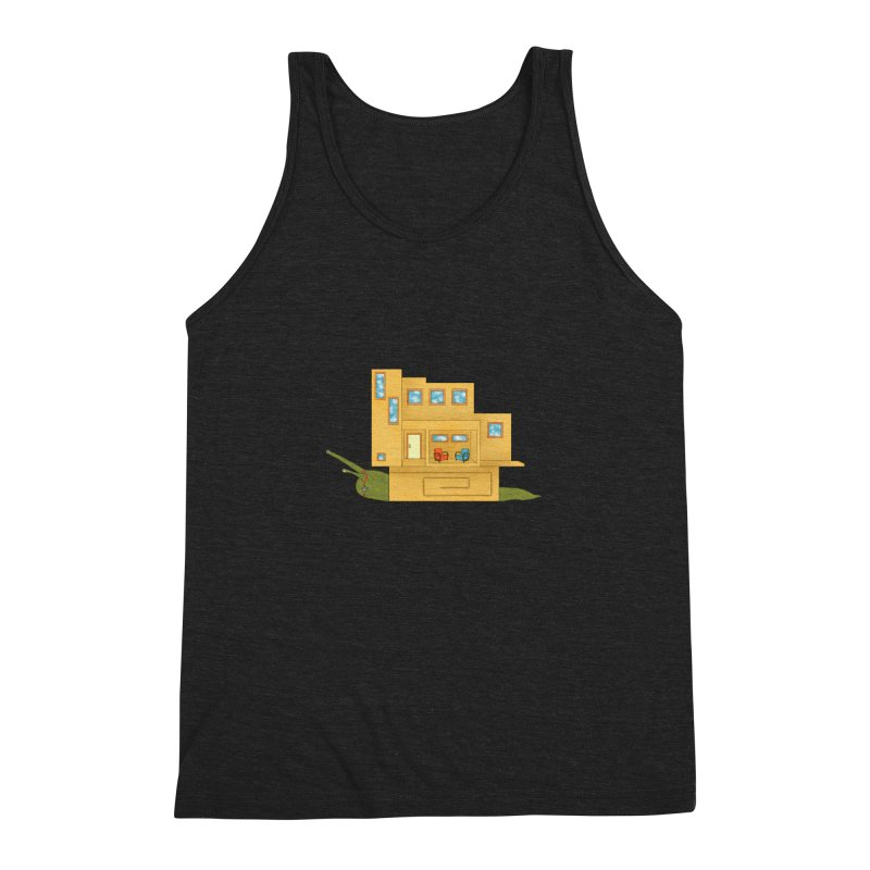 Mod Snail Men's Triblend Tank by The Art of Rosemary