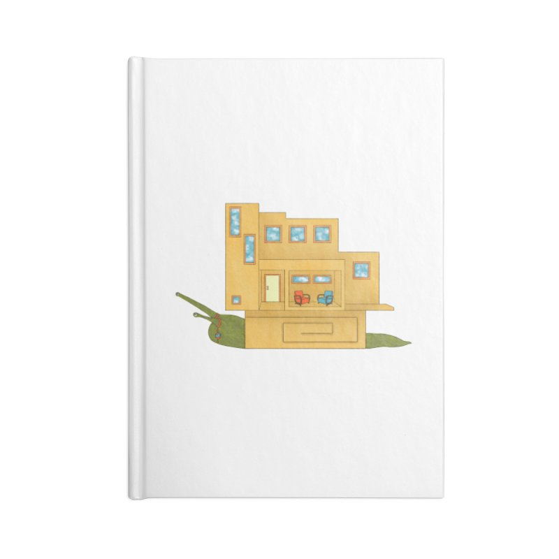 Mod Snail Accessories Lined Journal Notebook by The Art of Rosemary
