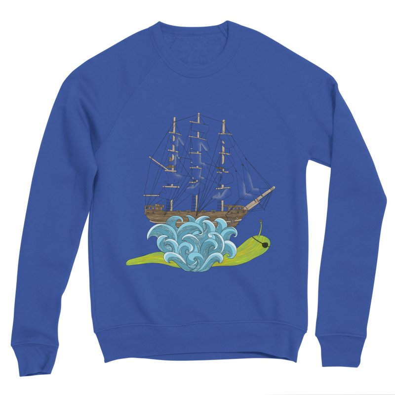 Ship Snail Men's Sweatshirt by The Art of Rosemary
