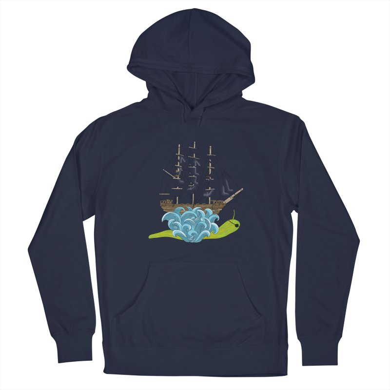 Ship Snail Men's Pullover Hoody by The Art of Rosemary