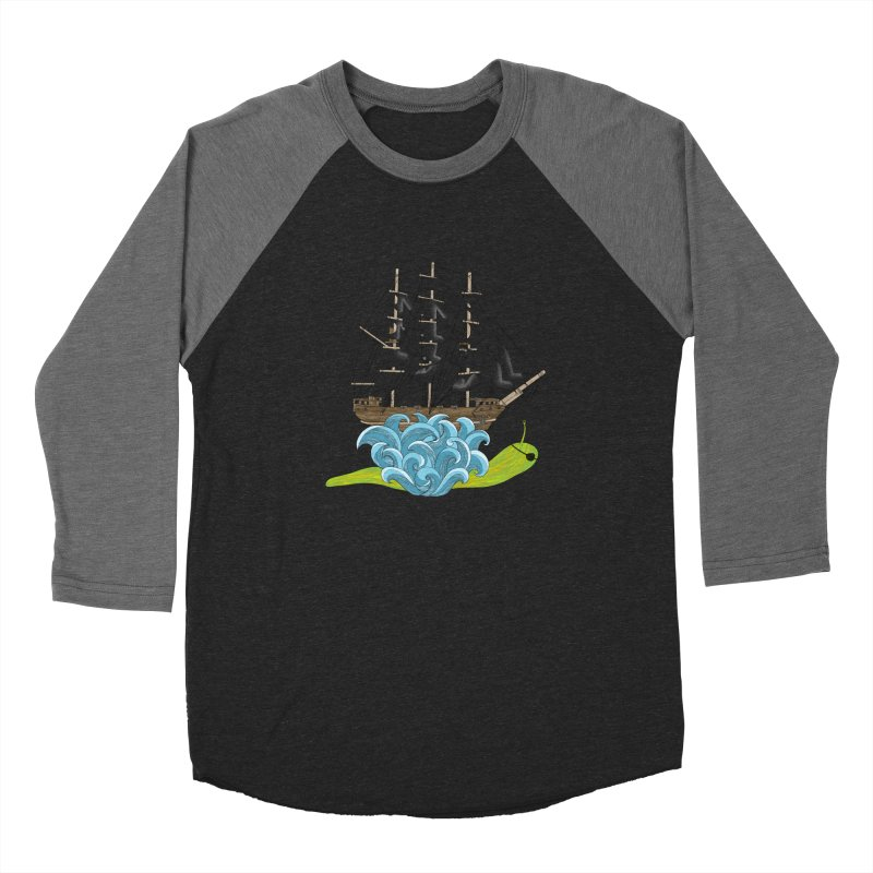Ship Snail Women's Longsleeve T-Shirt by The Art of Rosemary