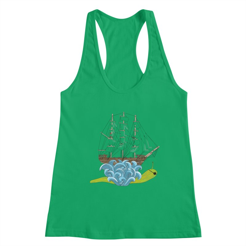 Ship Snail Women's Tank by The Art of Rosemary