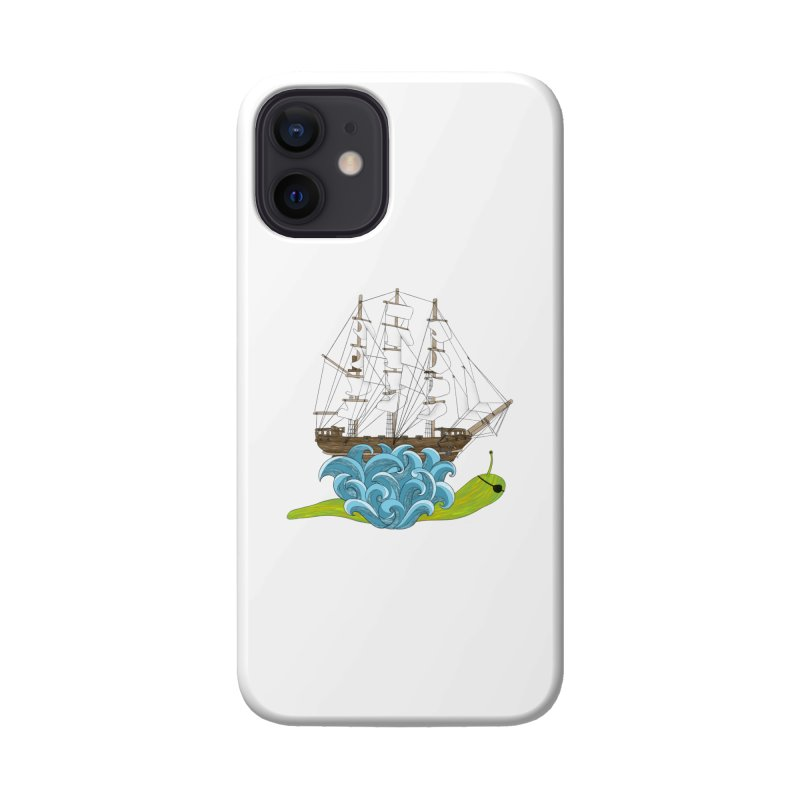Ship Snail Accessories Phone Case by The Art of Rosemary