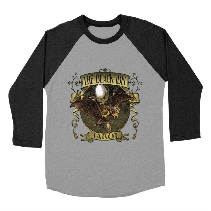 The Black Ibis Tarot Queen Bat Tee Women's Baseball Triblend Longsleeve T-Shirt by theatticshoppe's Artist Shop