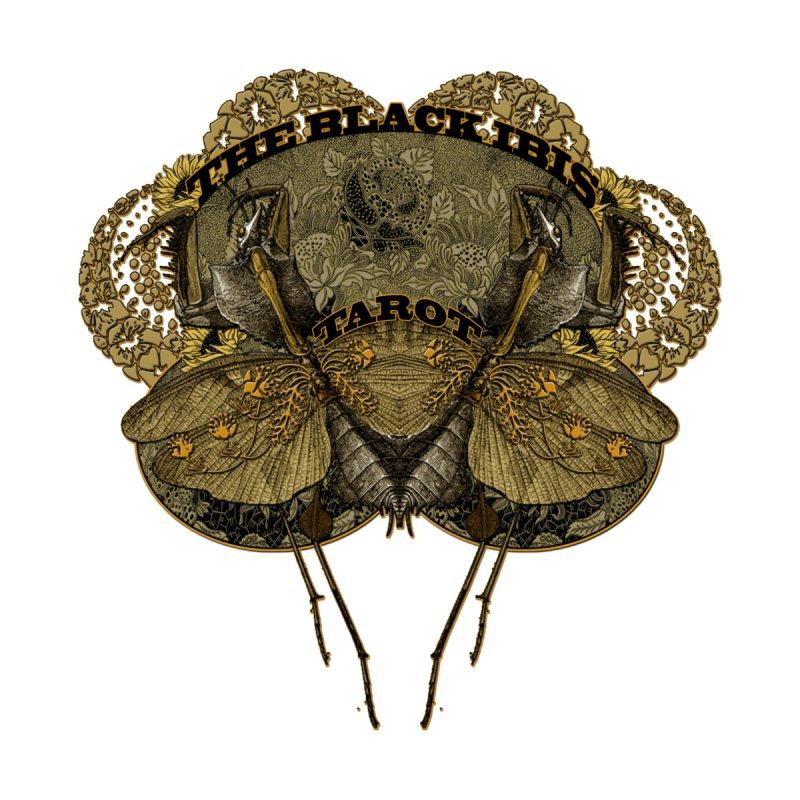 The Black Ibis Tarot Praying Mantis Tee Accessories Bag by theatticshoppe's Artist Shop