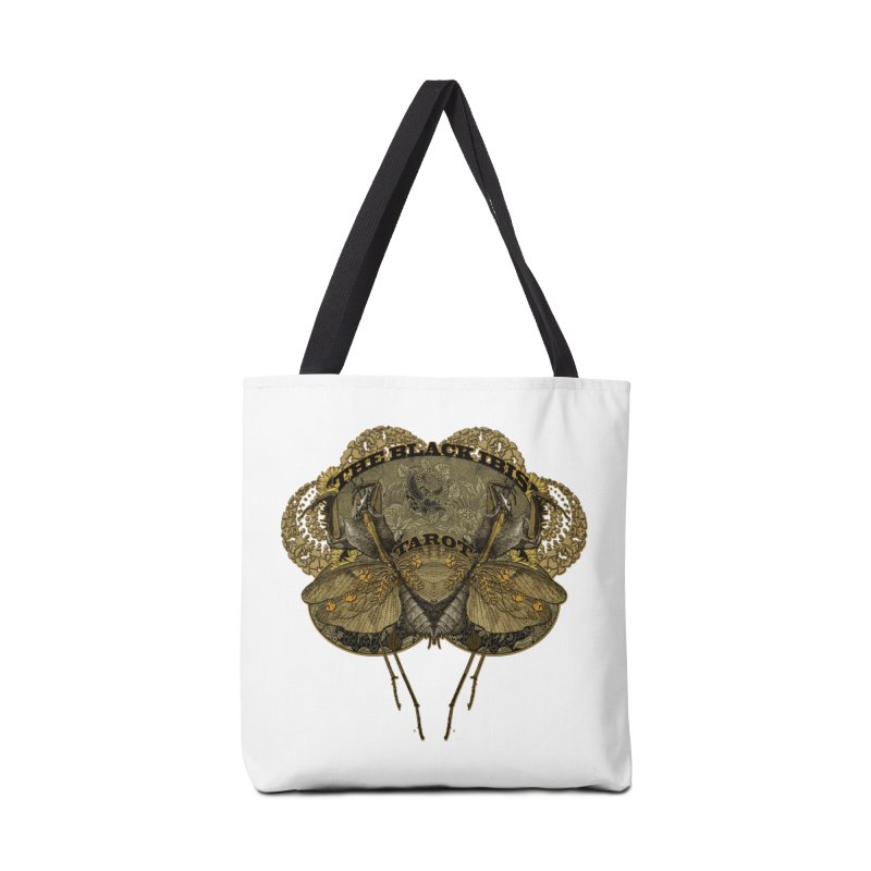 The Black Ibis Tarot Praying Mantis Tee Accessories Tote Bag Bag by theatticshoppe's Artist Shop