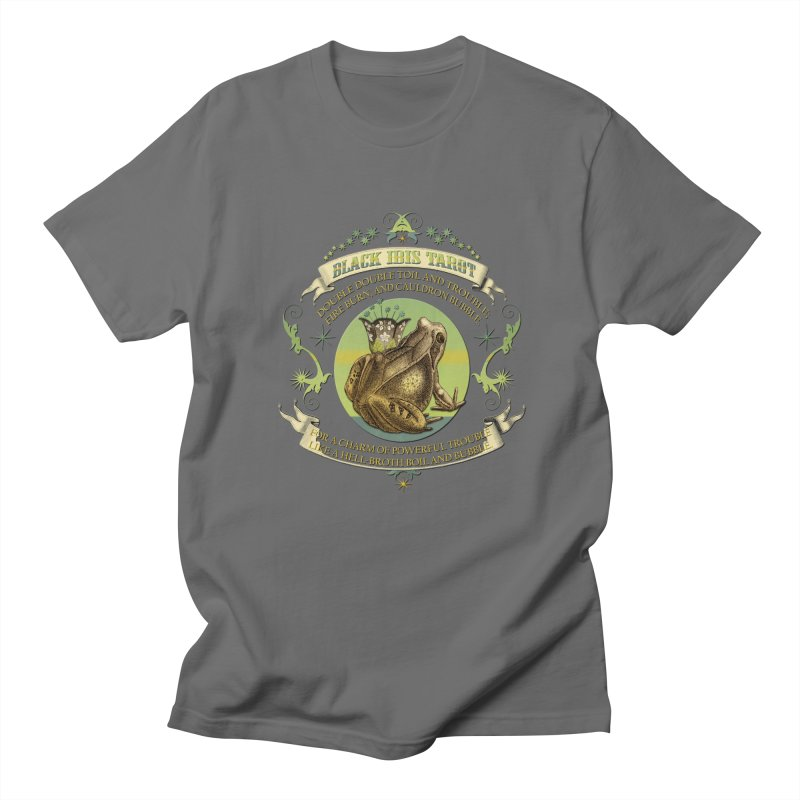 Black Ibis Tarot Frog Brew Tee Men's T-Shirt by theatticshoppe's Artist Shop