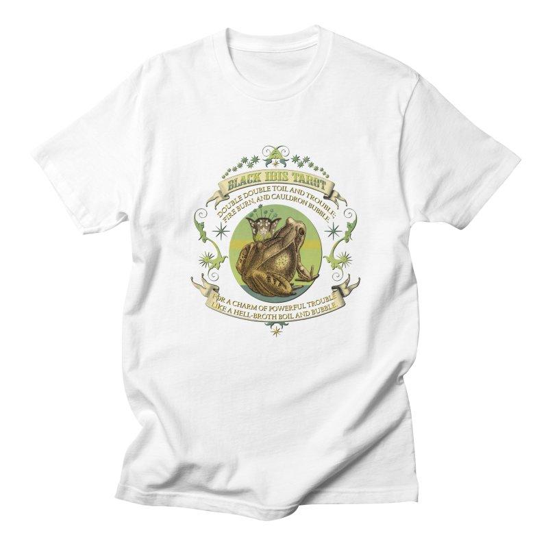 Black Ibis Tarot Frog Brew Tee Men's T-Shirt by theatticshoppe's Artist Shop