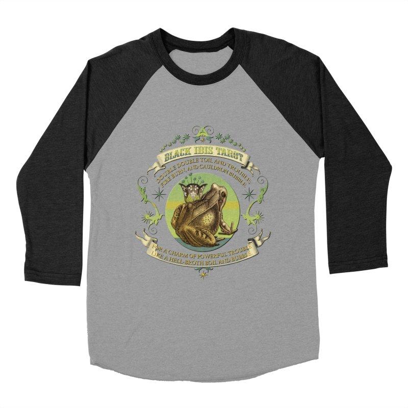 Black Ibis Tarot Frog Brew Tee Women's Baseball Triblend Longsleeve T-Shirt by theatticshoppe's Artist Shop