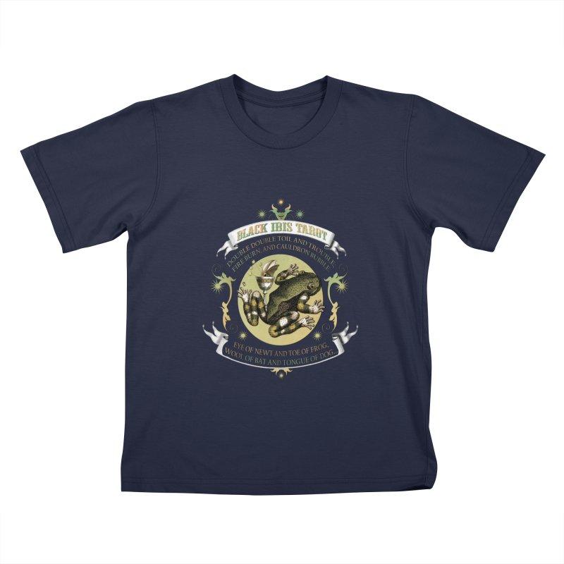 Black Ibis Tarot Eye of Newt Kids T-Shirt by theatticshoppe's Artist Shop