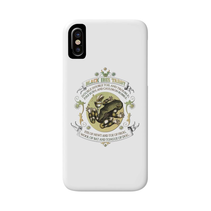 Black Ibis Tarot Eye of Newt Accessories Phone Case by theatticshoppe's Artist Shop