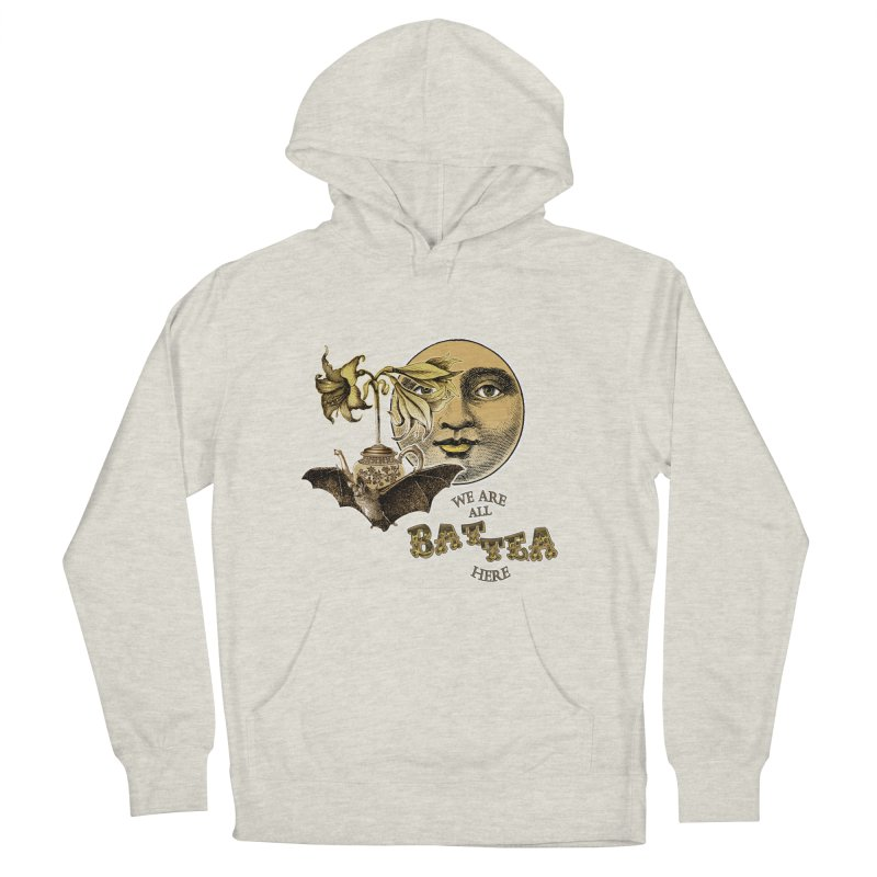 The Tea Bats Lily Bat Design Men's Pullover Hoody by theatticshoppe's Artist Shop